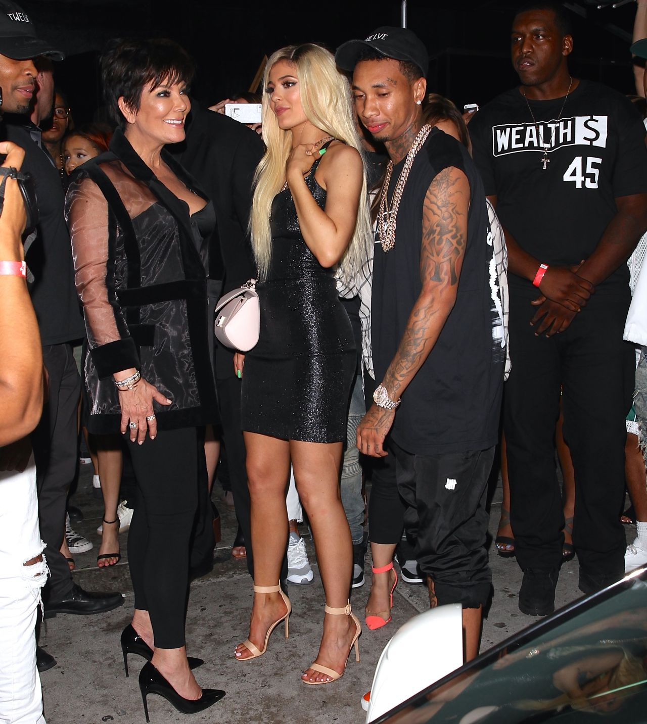 Kylie Jenner At Bootsy Bellows In West Hollywood August 2015
