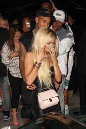 Kylie Jenner at Bootsy Bellows in West Hollywood, August 2015