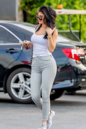 Kylie Jenner in Tight Jeans - Out in Calabasas, August 2015