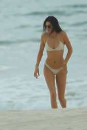 Kylie Jenner, Kendall Jenner, Hailiy Baldwin and Pia Mia Perez Bikini Fun in Punta Mita, Mexico