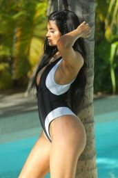Kylie Jenner Swimsuit Photoshoot in St. Barts - August 2015