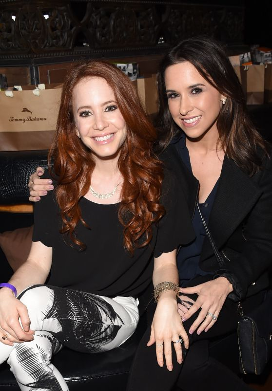 Lacey Chabert & Amy Davidson at the Taylor Swift Concert in LA, August 2015
