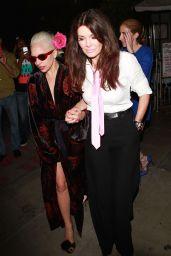 Lady Gaga – Leaving a restaurant in West Hollywood, August 2015