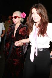 Lady Gaga – Leaving a restaurant in West Hollywood, August 2015
