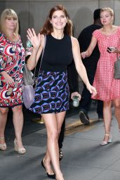 Lake Bell - at The Today Show in New York City, August 2015