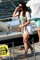 Lana Del Rey On Holiday With Boyfriend Francesco Carrozzini in Portofino, August 2015