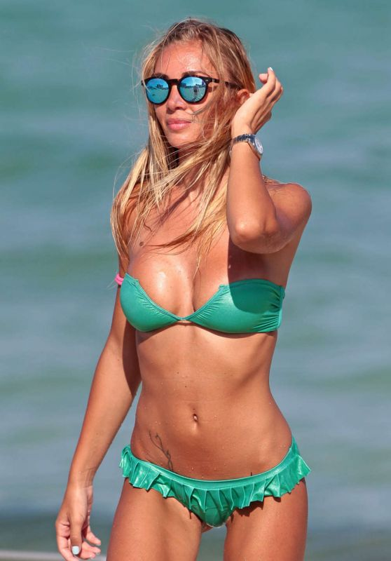 Laura Cremaschi Hot in Bikini in Miami, August 2015