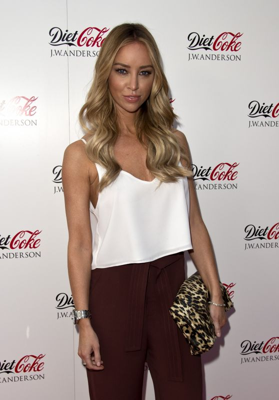 Lauren Pope – Diet Coke Fashion Forward Designer Collaboration Fashion Party in London