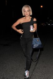 Lily Allen Night Out Style - Out in London, August 2015