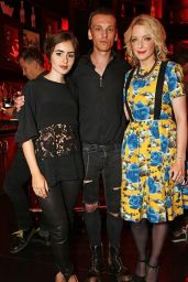 Lily Collins - W London Openinig in London, August 2015