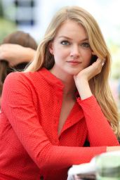 Lindsay Ellingson - AERIN Beauty and NET-A-PORTER.COM Summer Luncheon in NYC