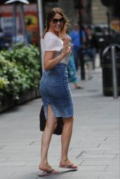 Lisa Snowdon - Out in London, July 2015