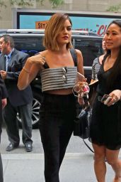 Lucy Hale - at the NBC studios in New York City, August 2015