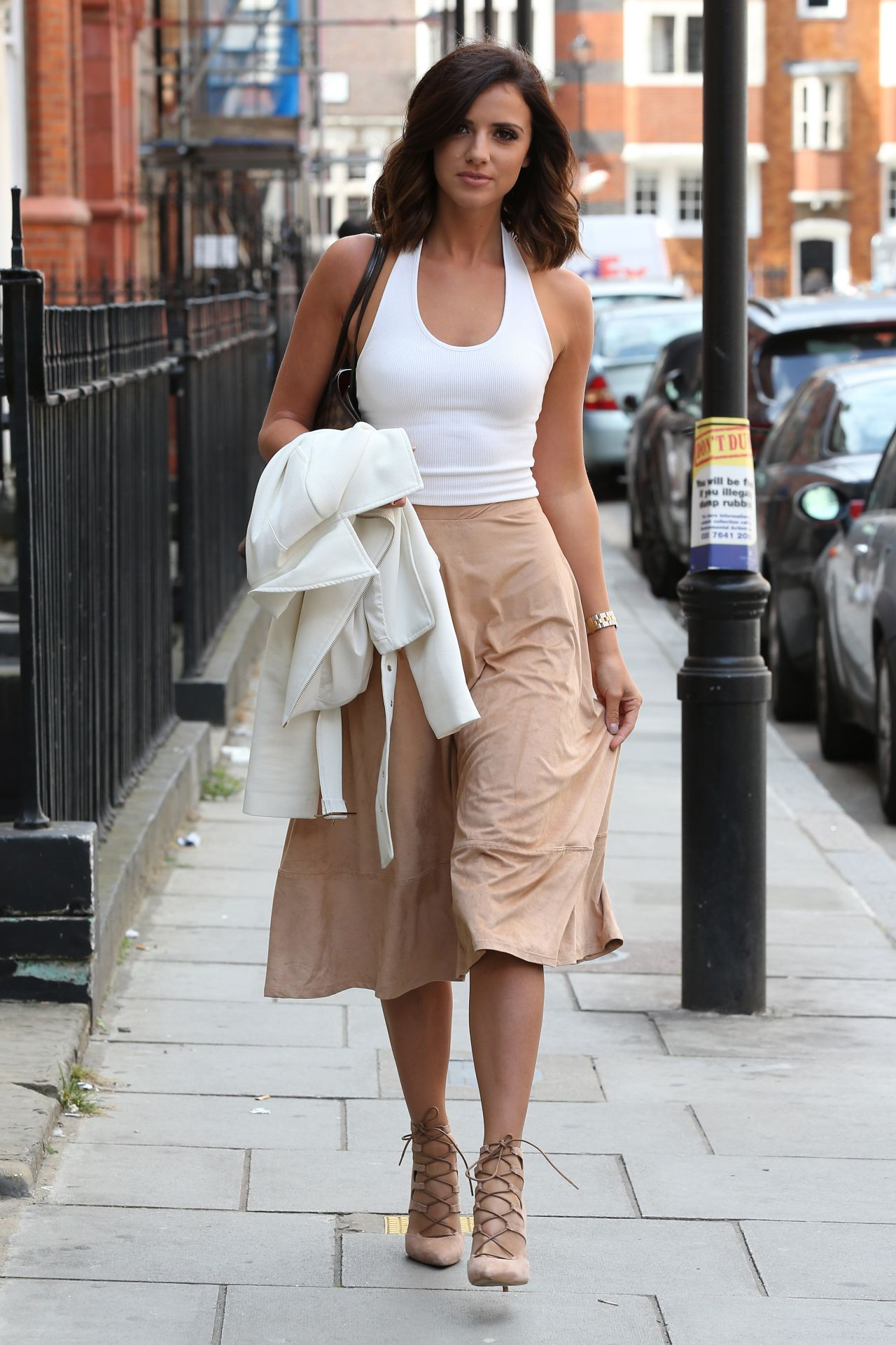Lucy Mecklenburgh Style Out In London July 2015
