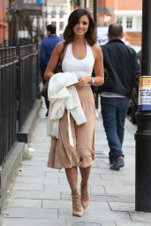 Lucy Mecklenburgh Style - Out in London, July 2015