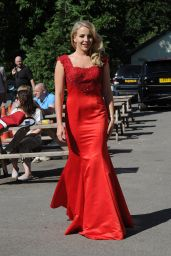 Lydia Bright - Boob Summer Ball in Aid of CoppaFeel at High Beech, Essex