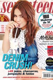 Maia Mitchell - Seventeen Magazine Mexico September 2015 Cover
