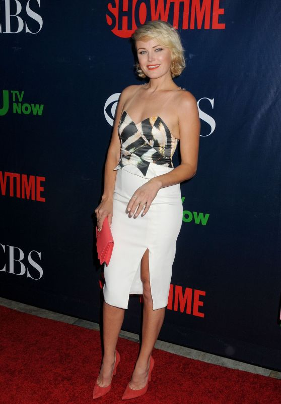Malin Akerman - 2015 Showtime, CBS & The CW