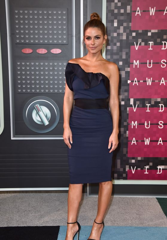 Maria Menounos – 2015 MTV Video Music Awards at Microsoft Theater in Los Angeles