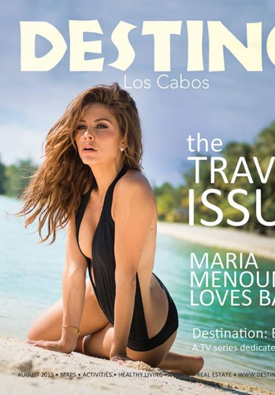 Maria Menounos - Destino Magazine August 2015 Issue