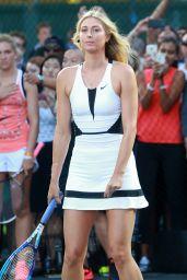 Maria Sharapova – Nike's 'NYC Street Tennis' Event in New York City – August 2015