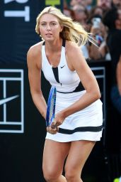 Maria Sharapova – Nike's 'NYC Street Tennis' Event in New York City – August 2015