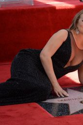 Mariah Carey at Her Hollywood Walk of Fame Ceremony