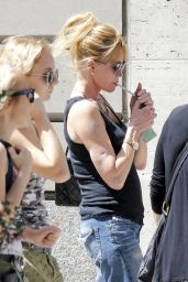 Melanie Griffith Shopping in New York City, August 2015