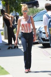Melanie Griffith Street Style - Out in LA, August 2015
