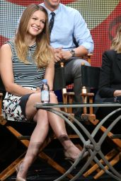 Melissa Benoist - Supergirl Panel at Summer TCA Tour in Beverly Hills