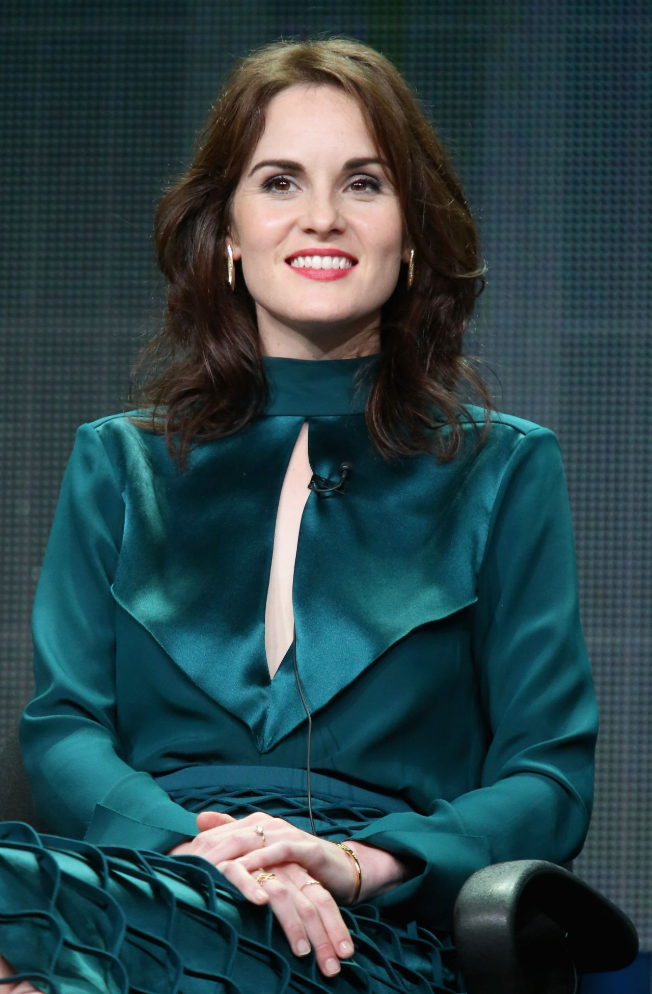 Michelle Dockery  PBS 2015 TCA Summer Tour for Downton - 2015 Summer Hairstyles