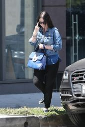 Michelle Trachtenberg - Out in West Hollywood, August 2015