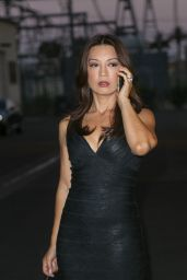 Ming-Na Wen at a Studio in Los Angeles, August 2015
