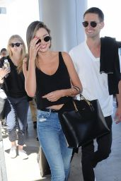 Miranda Kerr - at LAX Airport, August 2015