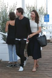 Miranda Kerr out in Malibu, August 2015