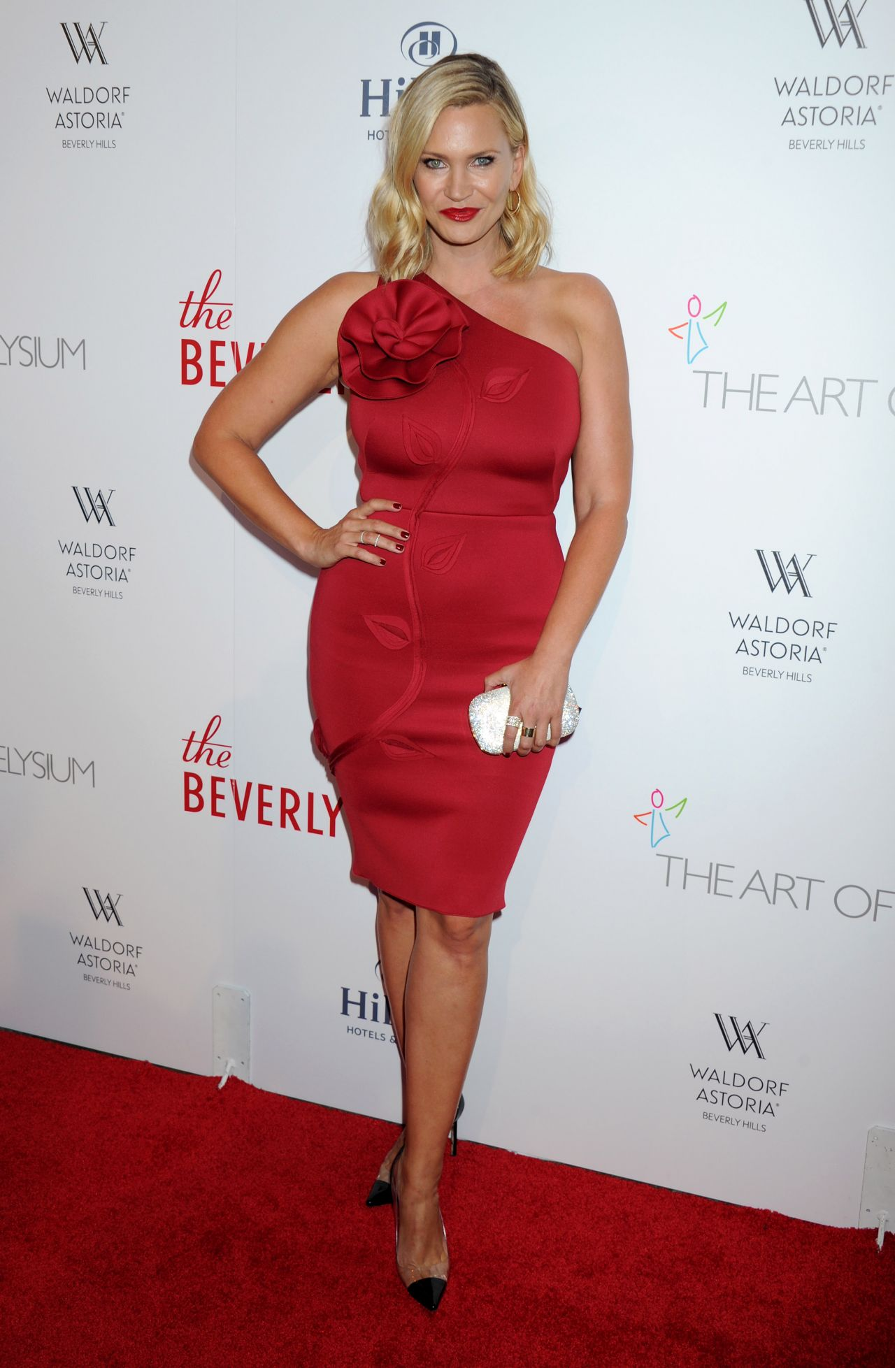 Natasha Henstridge - The Beverly Hilton Celebrates 60 ...