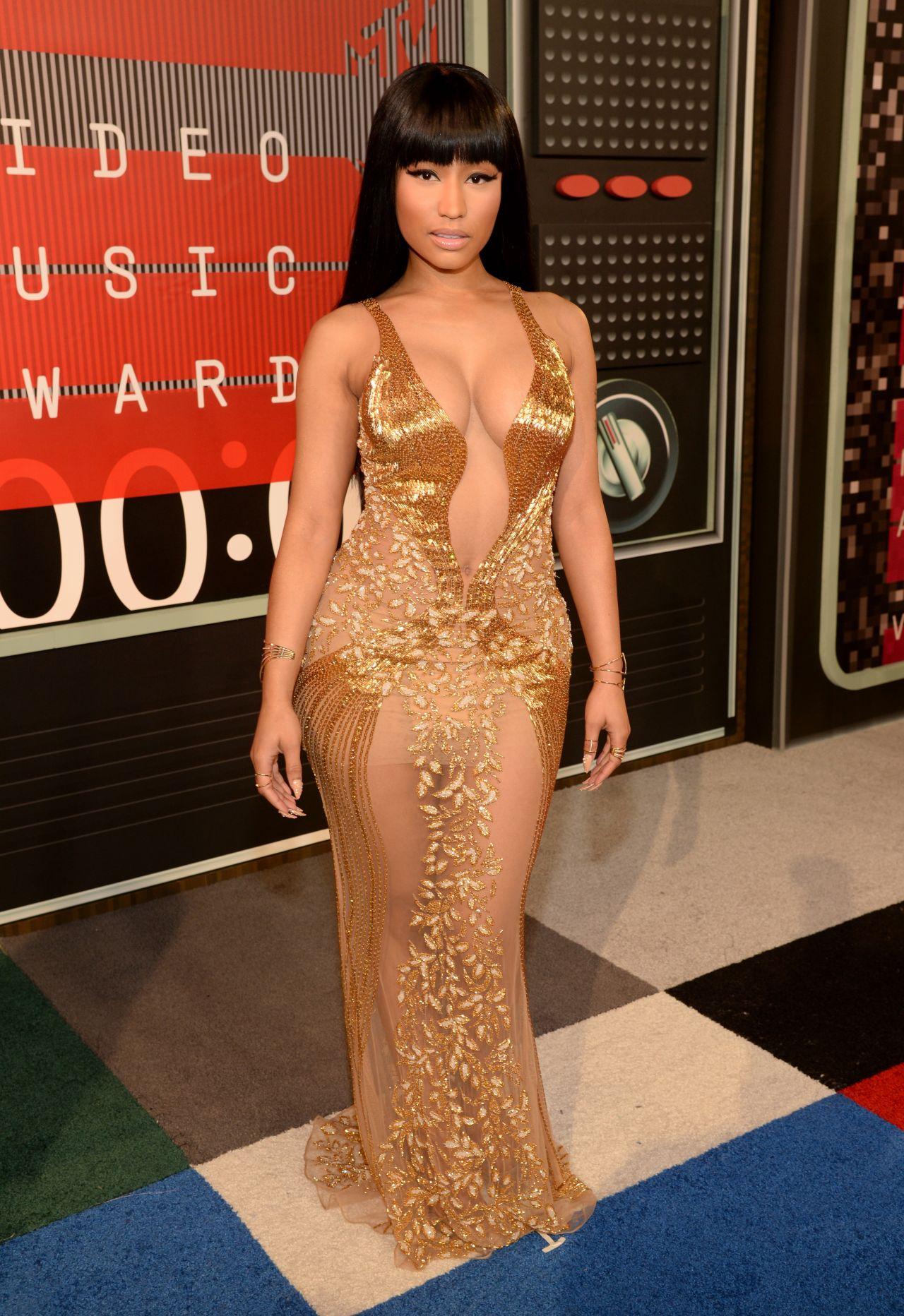 Nicki Minaj 2015 Mtv Video Music Awards hos Microsoft-1677