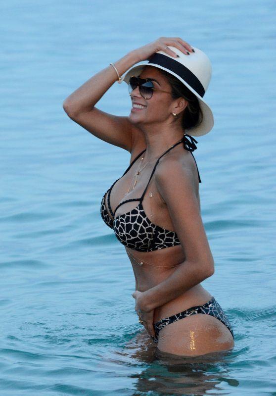 Nicole Scherzinger Hot in Bikini - Mykonos 2015
