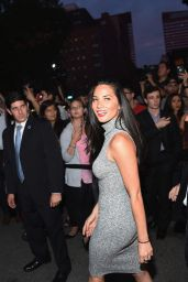 Olivia Munn - Final Taping of The Daily Show With Jon Stewart in New York, August 2015