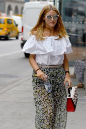 Olivia Palermo Casual Style - Out in NYC, August 2015