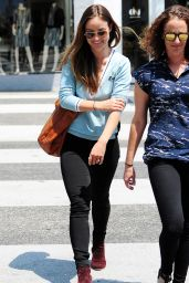 Olivia Wilde - Out in Los Angeles, August 2015
