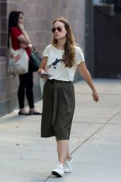 Olivia Wilde - Out in New York City, August 2015