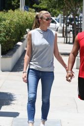 Paige Butcher in Tight Jeans - Sherman Oaks, JUly 2015