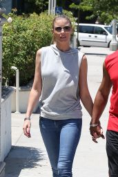Paige Butcher in Tight Jeans - Sherman Oaks, JUly 2015