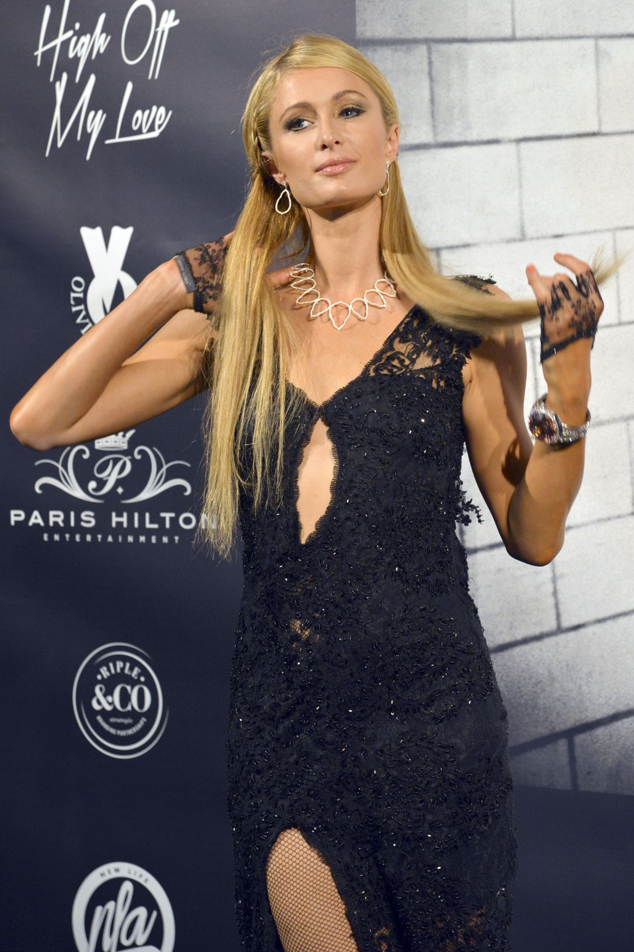 Paris Hilton At Olivia Valere Disco In Marbella August 2015