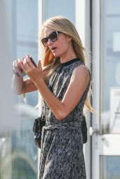 Paris Hilton at the Zurich Airport, August 2015