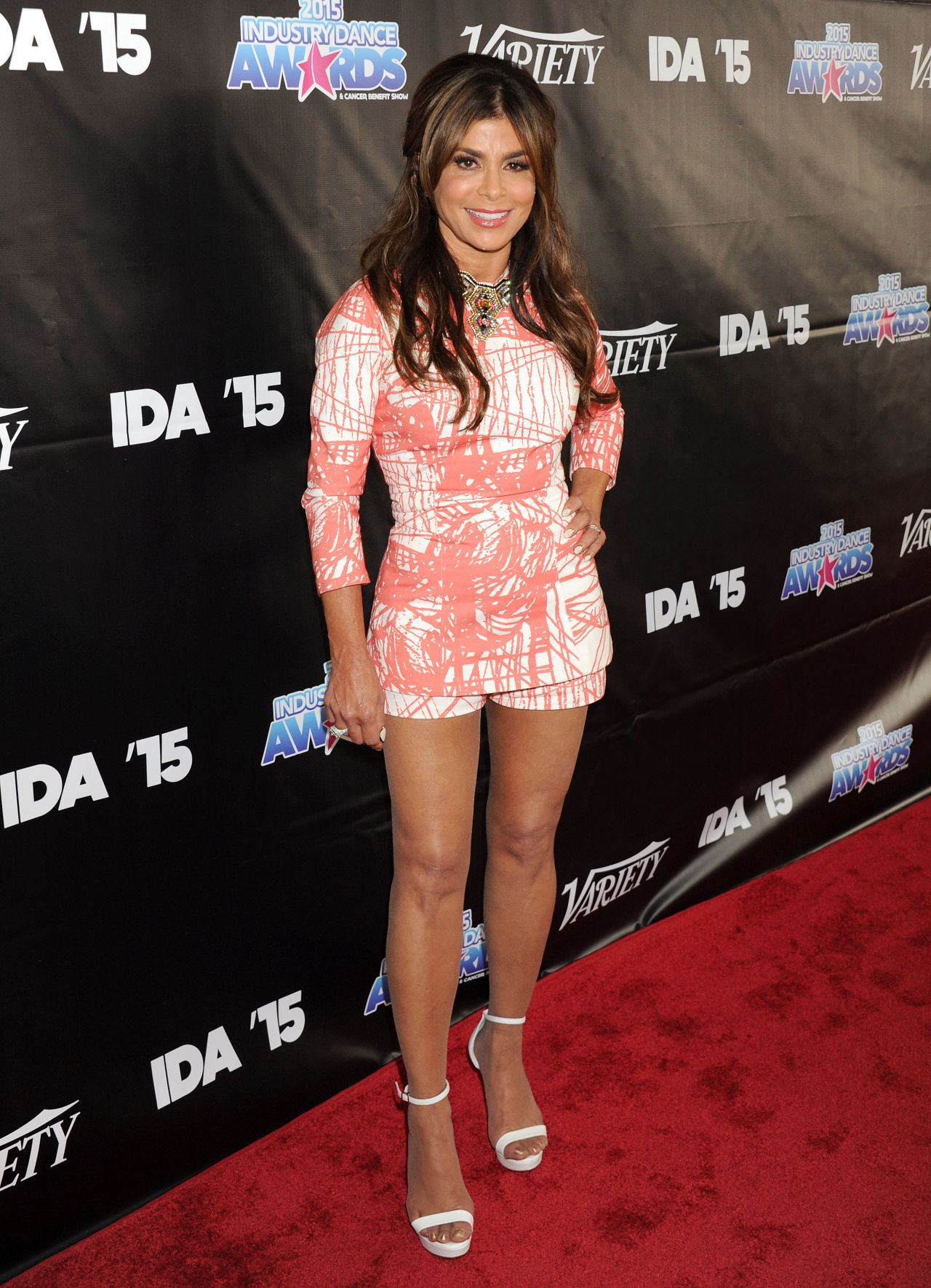 Paula Abdul 2015 Industry Dance Awards In Hollywood