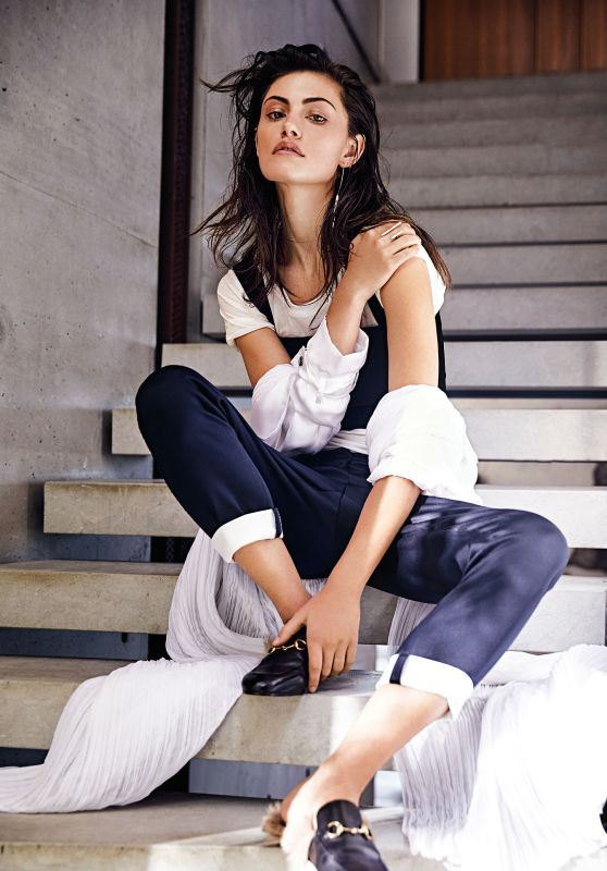 Phoebe Tonkin - Photoshoot for Sunday Style Magazine 2015