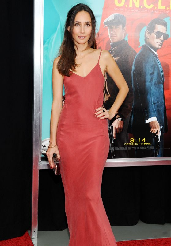 Rebecca Dayan - 'The Man From U.N.C.L.E.' Premiere in New ...
