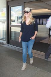 Reese Witherspoon at LAX Airport, August 2015